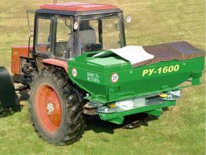РУ-1000/1600 Разбрасыватель минеральных удобрений