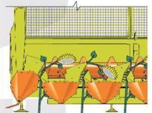 Жатка НАШ-673/873/1273/1256 для уборки подсолнечника