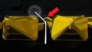 Жатка Sunmaster 870/1270 для уборки подсолнечника